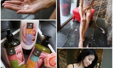 <美體>褪去粗糙暗沉肌三步驟! herbmaze草繹玫瑰依蘭身體呵護系列。