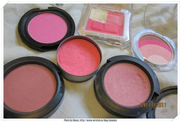 <影音>愛用的粉色系腮紅分享&#038;腮紅刷法教學。