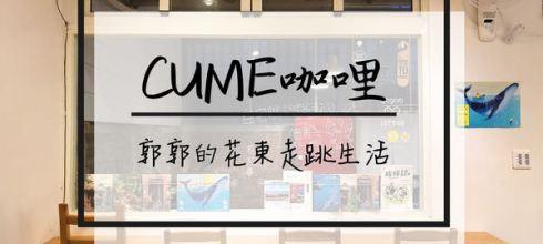 【花蓮市區】CUME咖哩┃近花蓮遠百之林務局舊宿舍改建有貓咪的日式咖哩┃