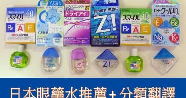 2016日本藥妝必買 | 日本眼藥水推薦 + 分類翻譯