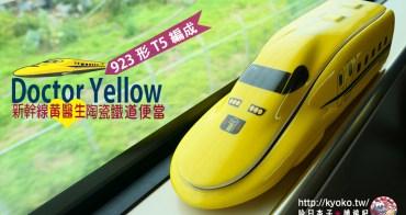 日本鐵道便當|新幹線黃醫生・923形T5編成|Doctor Yellow・造型便當-2