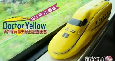 日本車站便當|新幹線黃醫生・923形T5編成|Doctor Yellow・造型便當-2