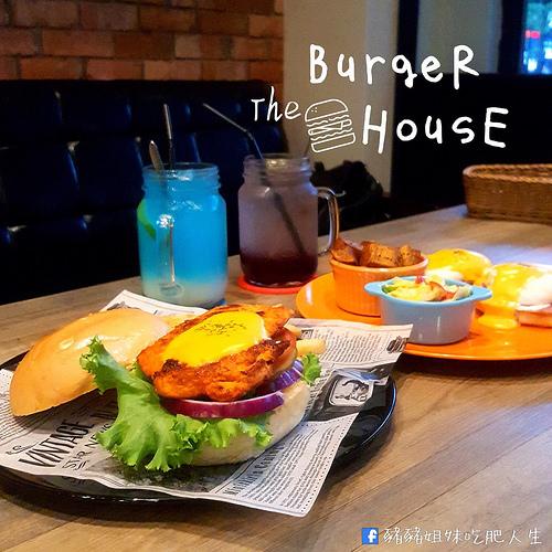 The BurgeR HousE-桃園八德異國風的創意漢堡 桃園夜市