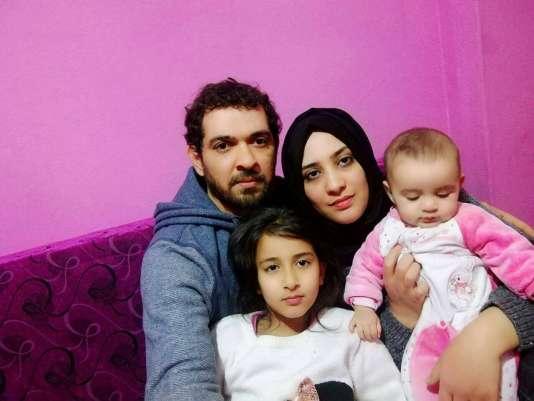 Marwa Kadhim et sa famille.