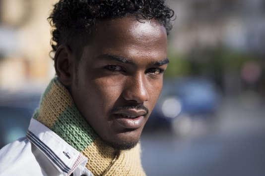 Ayaanle Ahmed Ibrahin, de Somalie, ici àCarini, en Italie