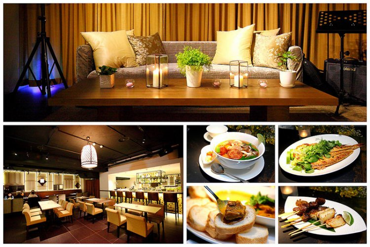 [台北大安]聽,沉浸爵士音樂中的閒適氛圍,嚐,精緻南洋鄉土特色料理~ One Restaurant & Lounge