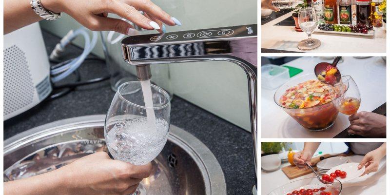 [廚房家電]氣泡水機推薦,不要再喝瓶裝飲料了!氣泡水正夯!YAFFLE亞爾浦櫥下型氣泡水機調飲會