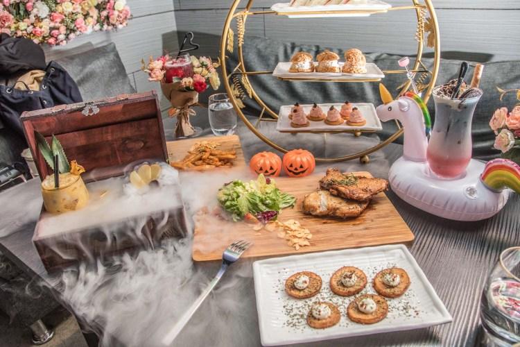 [台北大安]東區聚餐約會酒吧推薦!夢幻系時尚餐酒館!Elfin Restaurant & Lounge