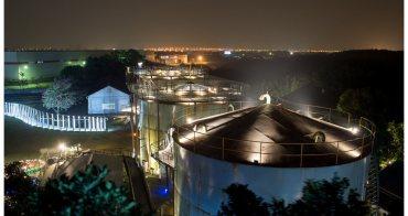【台南市仁德區-景點】老糖廠搖身變成文創園區 # 十鼓文化村 # 夜遊