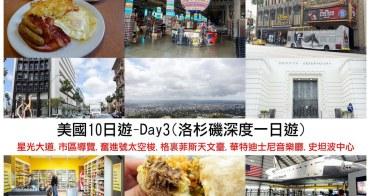 【美國十日遊】DA3-Denny's.市區.奮進號.天文臺.華特迪士尼音樂廳.史坦波中心