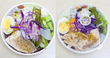 【台南安平區輕食】健康輕食便當餐|烤雞腿|煎牛小排|低卡養生餐~糧筷