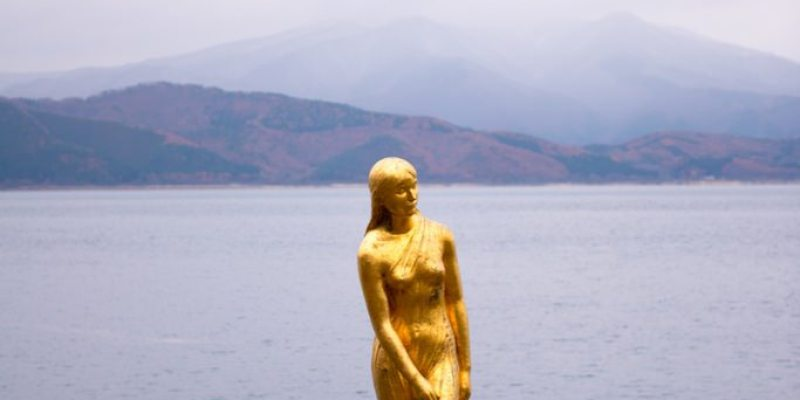 日本景點推薦》秋田田澤湖 - 日本水深第一的高原湖泊