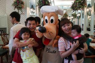 【香港親子遊】好嗨的早餐之與玩偶相約在翠樂庭/米奇廚師餐廳(4y2m26d+5m12d)