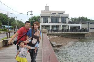【親子遊】淡水~LA VILLA甲奔看海衝巧克力夢公園做巧克力!(4y5m7d+7m23d)