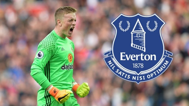 Everton agree massive fee for Jordan Pickford   JOE co uk Everton agree massive fee for Jordan Pickford