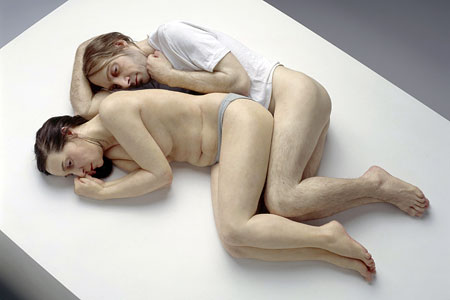 Ron Mueck sculpture