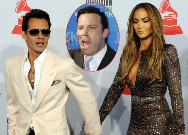 Jennifer Lopez Ben Affleck Marc Anthony
