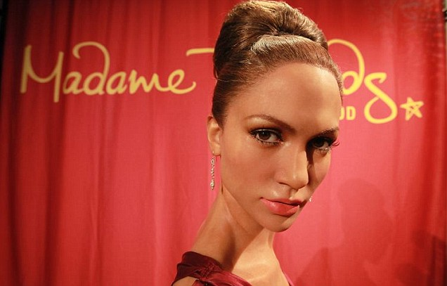 Jennifer Lopez wax figure