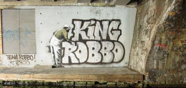 Graffiti Wars, Robbo, Banksy King 
