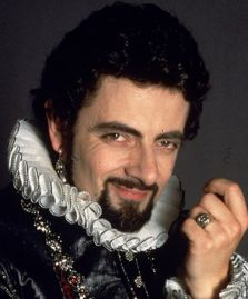Rowan Atkinson as Edmund Blackadder 