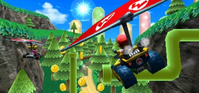 Mario Kart 7 (3DS) - Roads? Where we're going, we don't need roads