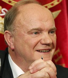 Russian Communist Party leader Gennady Zyuganov