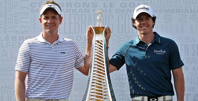 Luke Donald and Rory McIlroy