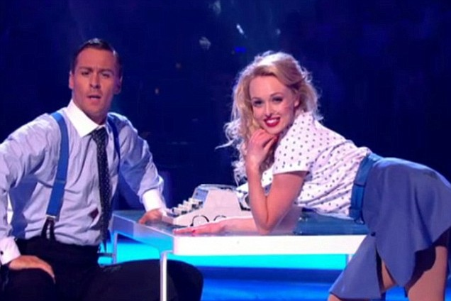 Jorgie Porter Dancing On ice