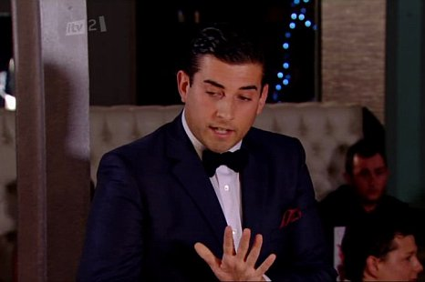 Arg pleads with Lydia and her friends (Picture: ITV)