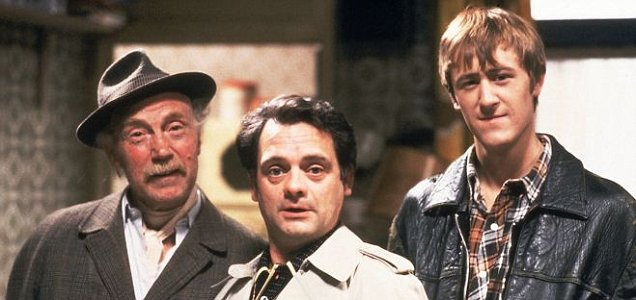 Del Boy and Rodney are to make a move Stateside (Picture: image.net)