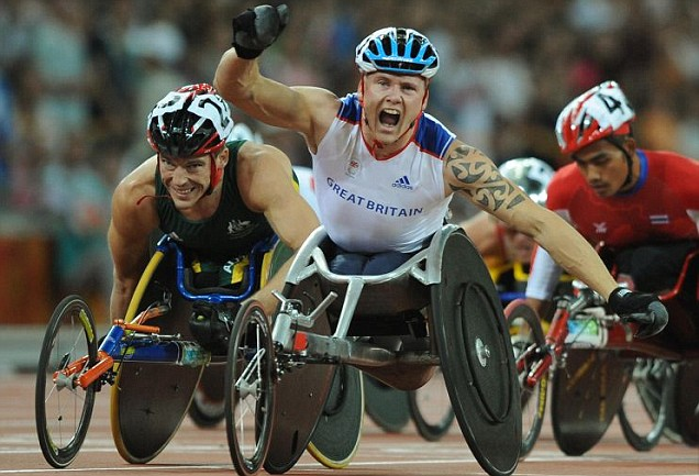 David Weir, London 2012 Paralympics