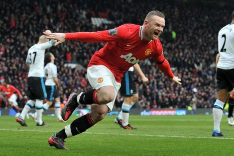 Manchester United Liverpool Wayne Rooney