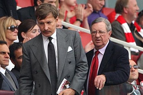 Stan Kroenke and Peter Hill-Wood