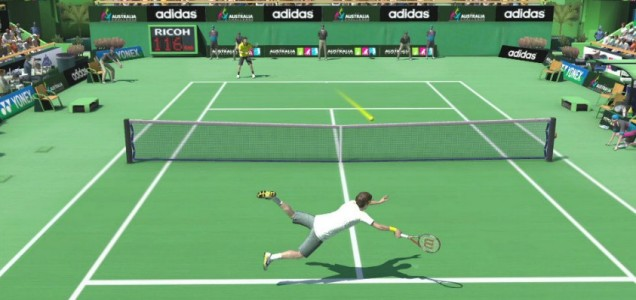 Virtua Tennis 4: World Tour Edition (PSV) - number one seed