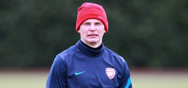 Arsenal's Andrey Arshavin