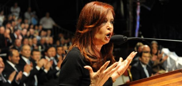 Cristina Fernandez Kirchner, Falklands