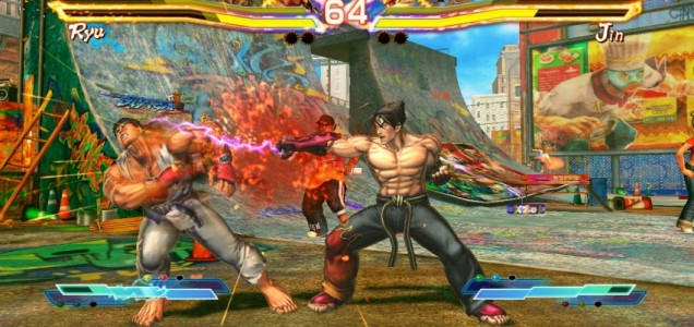Street Fighter X Tekken (PS3) - they both look cross