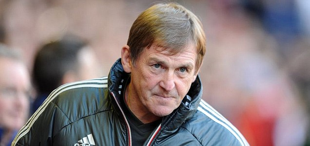 Liverpool's manager Kenny Dalglish