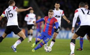 Xherdan Shaqiri is keen to leave Basel (AFP/Getty Images)