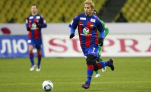 Keisuke Honda is keen to leave CSKA Moscow (Getty Images)