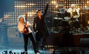 Adam Lambert will join Queen on stage at Sonisphere Festival 2012 (Pic: PA)