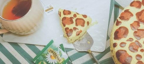 親子烘焙。酸甜好吃的療癒系豹紋優格蛋糕-適合8M以上寶寶的小點心(附影片示範唷)