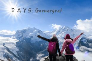 【女孩瑞士小旅行】Day5:Gornergrat冰川天堂
