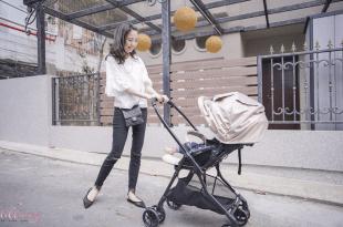 【育兒】日本Combi Loca智慧型四輪雙向推車