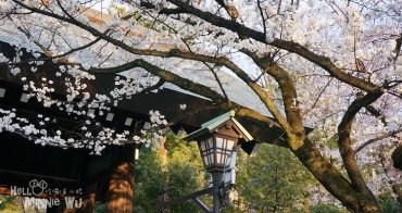 【東京賞櫻景點】靖國神社賞櫻,東京櫻花開花的標竿樹