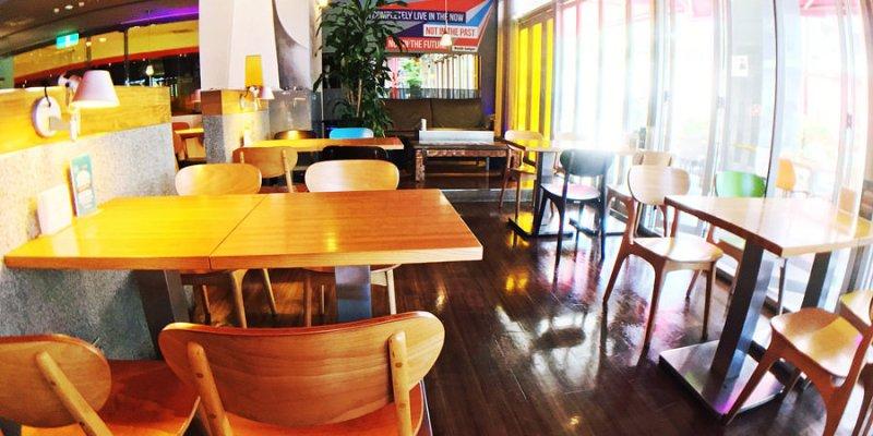 捷運市政府站美食 L.A CAFE 台北信義商圈早午餐 酒吧 宵夜 小酌聊天