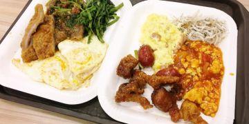台中北區美食 米街清粥小菜 便當 宵夜 自助餐 24H 白飯 地瓜粥 甜湯 無限暢飲 中清路一段小吃