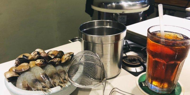 台中西區美食 生 Shabu Shabu 火鍋 涮涮鍋 日式風味 凌晨宵夜場 自製沾醬好涮嘴 海陸鍋 麻油雞 海鮮鍋