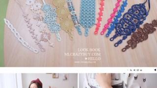 [手環] 雙手也要玩穿搭♥Missiu法國蕾絲刺繡幸運手環
