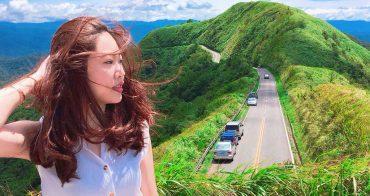 九份一日遊|拍照超美的「不厭亭&寂寞公路」:寂靜又壯觀的公路值得一來 (不厭亭停車、九份景點、102縣道不厭亭)